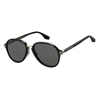 Marc Jacobs Marc 534/S 2M2/IR Black Gold/Grey Sunglasses