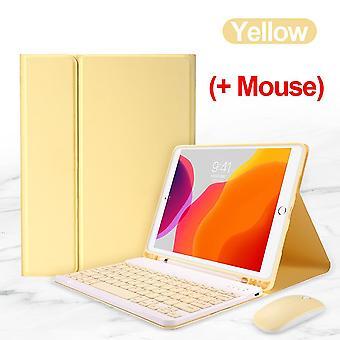 Tastatur mus tilfelle for Ipad Air 1 2 3 4 10.9 Pro 9.7 10.5 11 deksel