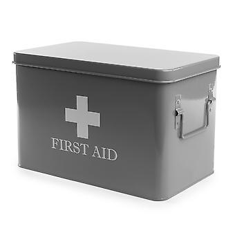 Skladovací box první pomoci | M&W šedá