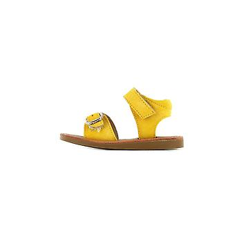 SHOESME Classic Sandal In Yellow