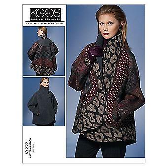 Vogue coser patrón 1277 se pierde chaqueta reversible tamaño L-XXL sin cortar