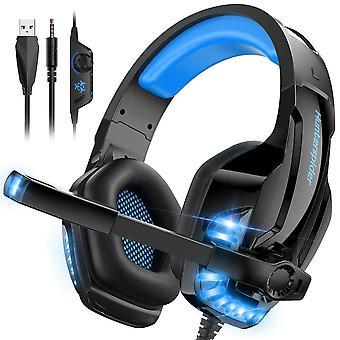 Hunterspider V6, Gamingheadset - Blue