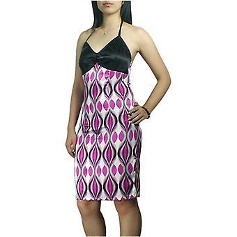 أنيقة نجمة مثير فستان بلا ظهر في الوردي