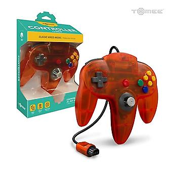 Nintendo 64 Wired Controller For N64 (Fire) - Hyperkin