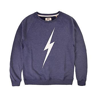 Lightning bolt forever crew sweatshirt