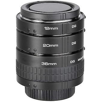 Wokex DG Nahringe 20/20/36mm Canon EF AF in schwarz