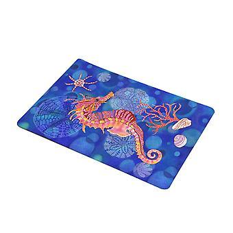 フランネル海動物ドアマット