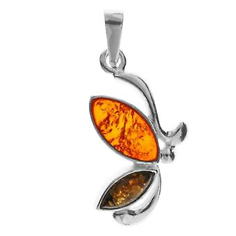 InCollections 0020202013340 - Women's pendant with amber, sterling silver 925