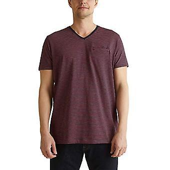 ESPRIT 040ee2k326 T-Shirt, 402/Navy 3, XL Heren