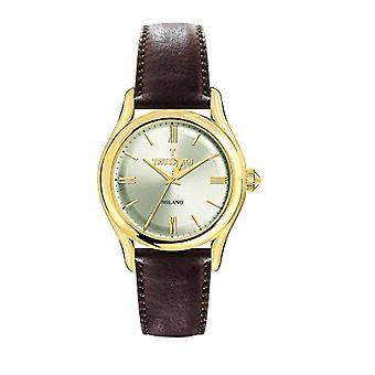 TRUSSARDI Analog Watch Quartz Man with Leather Strap R2451127003