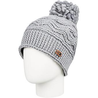 Roxy winter Bobble hoed in warme Heather grey
