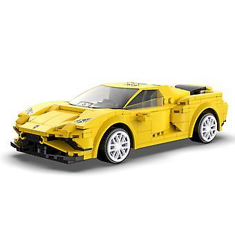APPプログラミングリモートコントロールスポーツカーモデルのビルディングブロック技術的なRCレーシングカーレンガギフト子供のためのおもちゃ