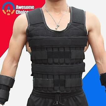 30kg Loading Weight Vest For Training Adjustable Sand Clothing
