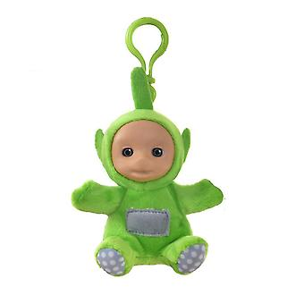 New Keychain Key Ring Teletubbies Rubber Surface Plush Toy Red ES11719