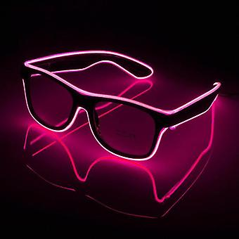 Led Glasses Glowing Party Supplies Lighting Flashing Glasses