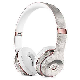 Stained Gray Damask Pattern Full-body Skin Kit For The Beats By Dre