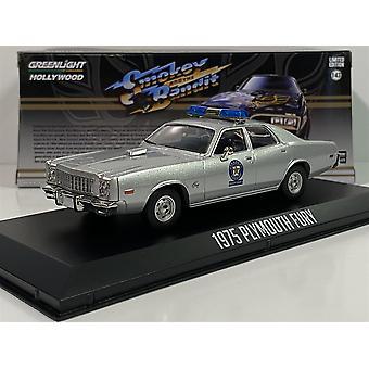 Smokey y el bandido 1977 Plymouth Fury Arkansas 1975 1:43 Greenlight 86581