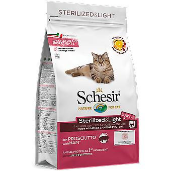 Schesir Sterilized & Light With Ham (Cats , Cat Food , Dry Food)