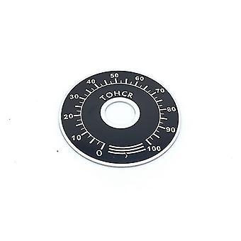 new digital plate mf a03 potentiometer knob cap scale plate sm41945