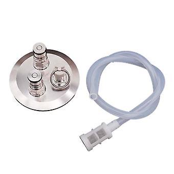 Ball Lock Konwertuj pokrywę ze słupkiem gazowym / piwem, silikonowy wąż Homebrew Kegging