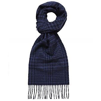Eton Wool Prince Of Wales Check Scarf