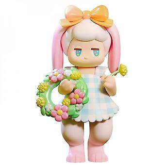Pop Satyr Rory Plush Flower Shop Movable Doll Collection Art Toy 16.5 Cm