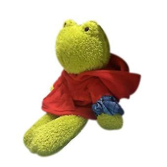 Funny Plys Green Frog Doll Slank hængende fødder dyr dukke frøen som en gave til venner