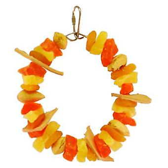 AE Cage Company Happy Beaks Mixed Fruit Ring Tropical Delight - 1 count