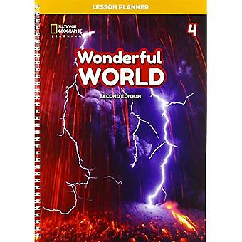 Wonderful World 4: Lesson Planner with Class Audio CD, DVD, and Teacher's Resource CDROM