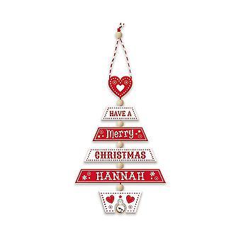 Storia & Araldica Decorazione dell'albero di Natale - Hannah 269800344 Legno Fatto a mano