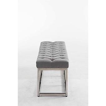 Chaise de bureau - Chaise de bureau - Bureau à domicile - Moderne - Gris - 100 cm x 38 cm x 46 cm