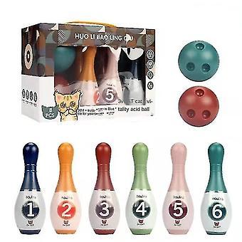 Bowling Spielzeug Kinder Indoor Bowling Set