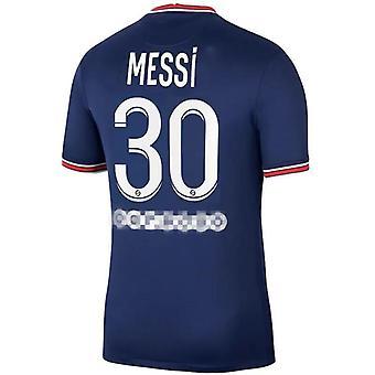 2021-2022 Messi Psg Træningstøj nr. 30 Voksen Trøje
