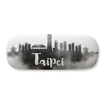 Taipei Taiwan Chine Landmark Ink City Lunettes Case Lunettes Hard Shell Rangement Lunettes Boîte