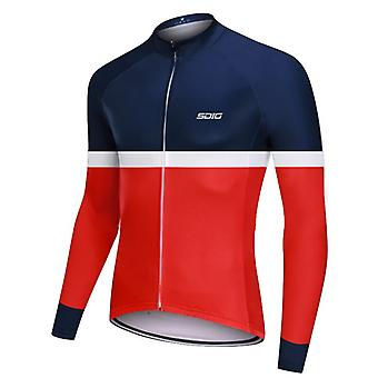 2021 New Autumn Men Cycling Jersey Long Sleeve Mtb Sport Riding Shirt Quick Drying Cycle Clothes Jacket Maillot Ciclismo