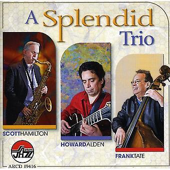 Hamilton/Alden/Tate - Splendid Trio [CD] USA import