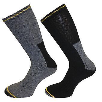 10 x Mens يرتدي الثابت العمل-السلامة التمهيد الجوارب-الدفء والراحة الحجم 6-11