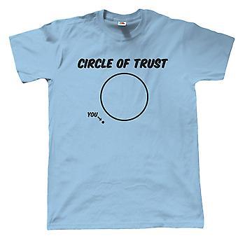 Circle of Trust, mens rolig film T shirt-pappor dag födelsedagspresent till pappa