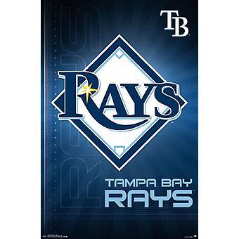 Tampa Bay Rays - logotipo 16 Poster Poster Print