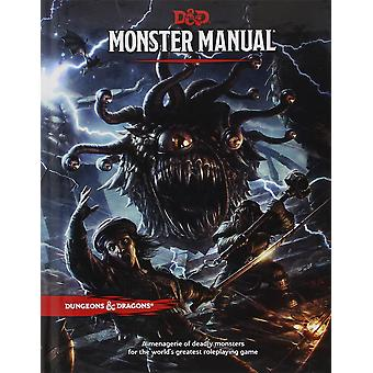 Monster Manual A Dungeons and Dragons Core Rulebook - Book