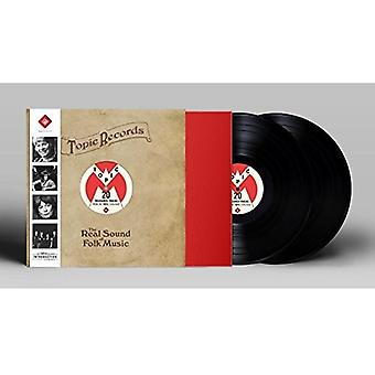 Various Artist - Real Sound of Folk Music [Vinyl] USA import