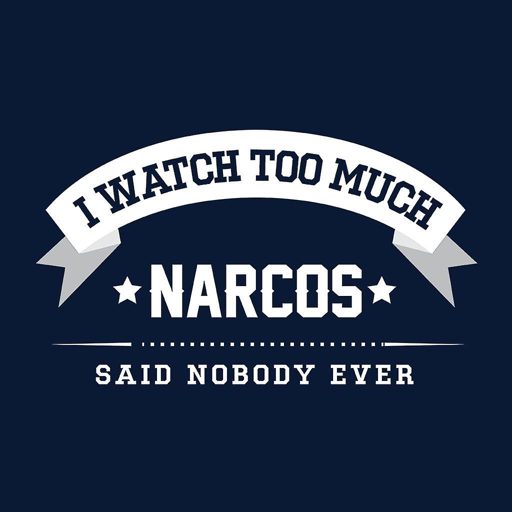 Je regarde trop Narcos dit personne ne jamais homme gilet mz4ng2