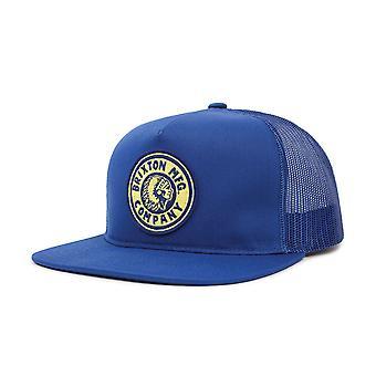 Соперник Brixton сетки Snapback Cap Королевский синий