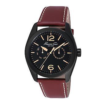 Kenneth Cole Nowy Jork mężczyzn nadgarstka zegarek analogowy skórzana 10018785 / KC8063