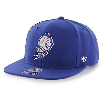 47 Brand Snapback Cap - SURE SHOT New York Mets royal