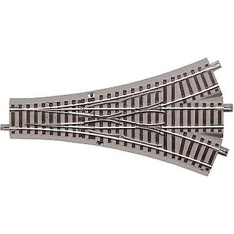 61160 H0 Roco GeoLine (incl. track bed) 3-way points