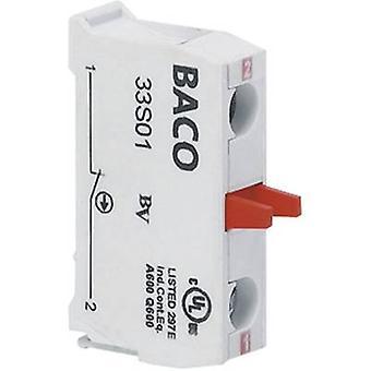 BACO BA33S01 Contacto 1 interruptor momentáneo 600 V 1 ud(s)