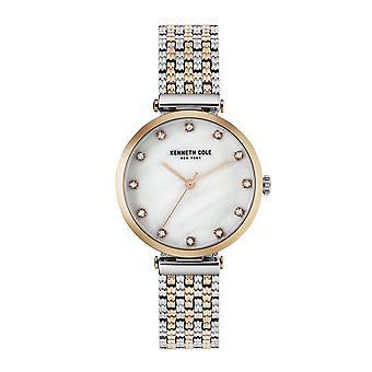 Kenneth Cole New York Damen-Armbanduhr Analog Quarz Edelstahl KC50256003
