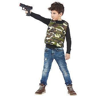 Hæren vest militær soldat kostumer til børn