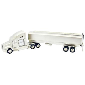 Gift Time Products Giant Tanker Lorry Mini Clock - Silver